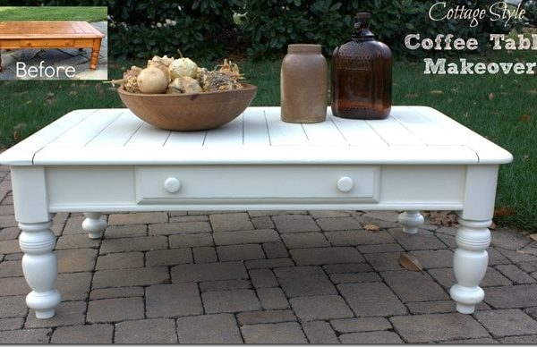 Enhance your way to revamp an outdated coffee table